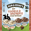 Ben & Jerry's Glace Mini Pots The Cookie & Brownie Cool-lection 4x100ml - Produkt