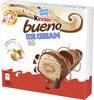 KINDER Bueno Ice Cream Barre Crème Glacée au Lait Enrobée de Chocolat - Produit