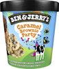 BEN & JERRY'S Glace en Pot Caramel Brownie Party 465ml - Produit