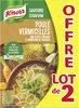 Knorr Soupe Poule Vermicelles Petits Légumes Lot 2x1L - Produit