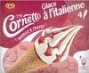 Cornetto Glace à l'Italienne Vanille & Fraise 140ml - Prodotto