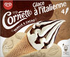 Cornetto glace à l'italienne vanille et cacao - Produit