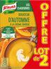 Knorr Les Classiques Soupe Liquide Douceur d'Automne à la Crème Fraîche Brique Lot 2x1L - Produit
