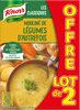 Knorr Les Classiques Soupe Liquide Mouliné aux Légumes d'Autrefois Lot 2x1L - Produit