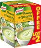 Knorr Douceur d'épinards à la crème, ail et fines herbes lot de - Produit