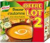 Knorr Soupe Liquide Douceur d'Automne à la Crème Fraîche Brique Lot - Produit