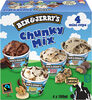 Ben & Jerry's Glace Mini Pots Chunky Mix x4 - Produit