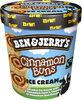 Ben & Jerry's Glace Pot Cinnamon Buns Caramel - Produit