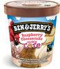 Ben & Jerry's Glace Pot Raspberry Cheesecake - Produit