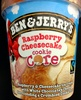 Ben & Jerry's Glace Pot Raspberry Cheesecake - Product