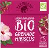 Elephant Bio Mon Infusion Grenade Hibiscus 20 Sachets - Produit