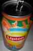 Boisson aux extraits de thé vert, jus d'orange, jus de fruits de la passion - Produit