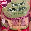 Gummi Stäbchen - Produkt