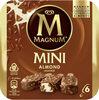 MAGNUM Glace Bâtonnet Mini Amande 6x55ml - Producto