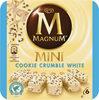 Magnum Mini Batonnet Glace Chocolat Blanc Cookie Crumble x6 360ml - Produit