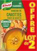 Knorr Soupe Douceur de Carottes Pointe de Noisette 1l Lot x 2 - Product
