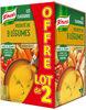Knorr Soupe Liquide Velouté de 9 Légumes Brique Lot 2x1L - Produit