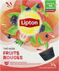 Lipton Thé Noir Fruits Rouges 12 Capsules - Product