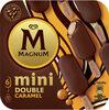 Magnum Glace Bâtonnet Mini Double Caramel 6x60ml - Product