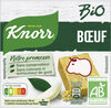 Knorr Bio Bouillon Bio Cubes Saveur Boeuf 6 Cubes - Produit