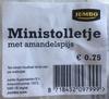 Ministolletje met amandelspijs - Produit