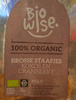 Biscuits coco et canneberges - BioWise - 175 g - Prodotto
