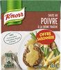 Knorr Sauce Poivre à la Crème Fraîche 30cl Offre Saisonnière - Produit