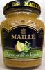 Moutarde au vin blanc à l'oignon grillé et au serpolet Maille - Produit