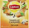 Lipton Thé Vanille Caramel 20 Sachets - Product