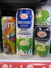 Young coconut juice drink with pulp - Product