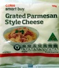 Grated Parmesan Style Cheese - Product