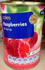 Raspberries in syrup - Product