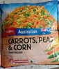 carrots, peas & corn - Product