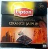Orange Jaipur flavoured black tea - Product