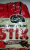Liquorice Choc Stix Raspberry Flavour with Milk Choc - Product