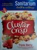 Cluster Crisp - Triple Berry - Product