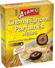 Champignons parfumés Ayam™ - Produit